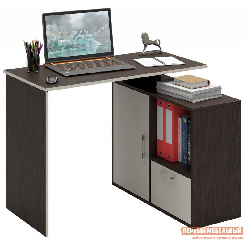Письменный стол  Слим-3 / Слим-4 Венге / Дуб Молочный, 1030 мм (фото 2)
