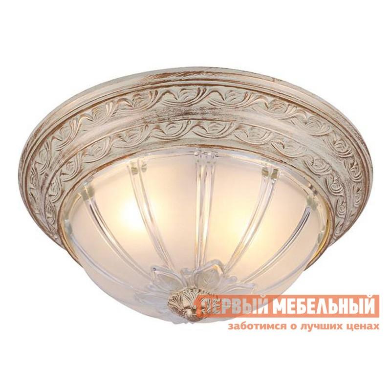Люстра  Потолочная люстра PIATTI A8014PL-2WA Бело-золотой / Прозрачный