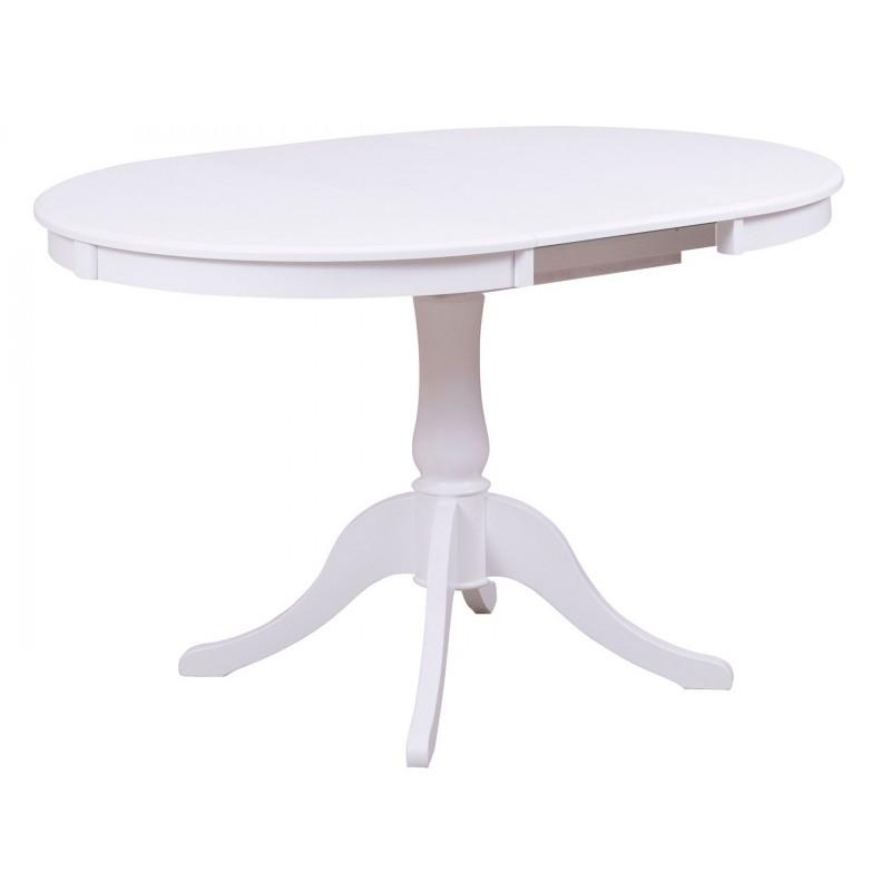 Кухонный стол  Стол Амадей 1,3 Белый матовый (фото 2)