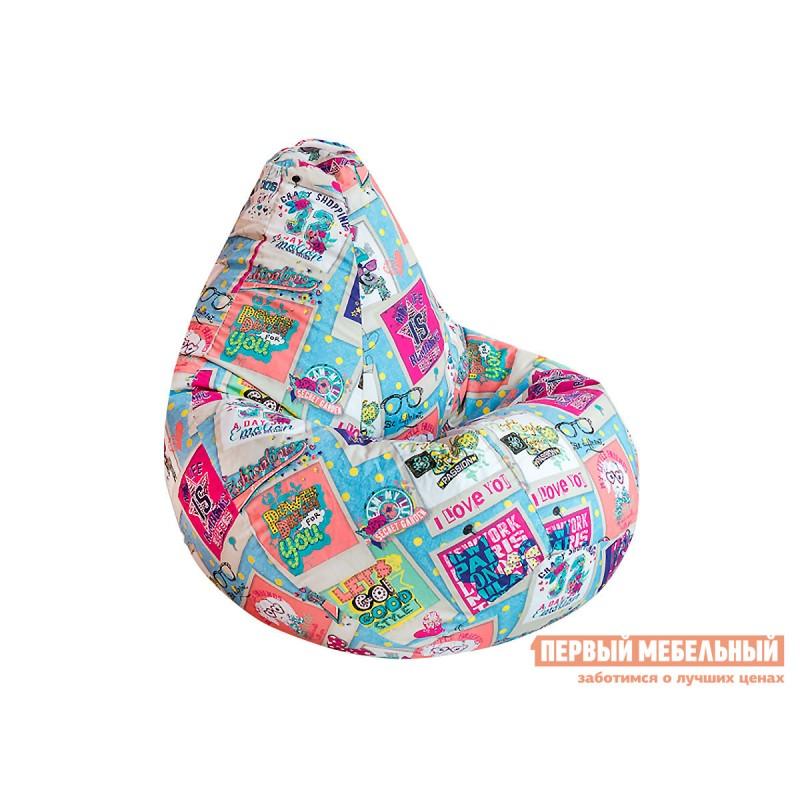 Кресло-мешок  Кресло Мешок Категория 3 жаккард Dream, 2XL