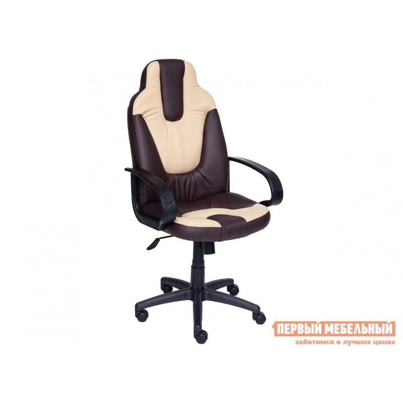 Игровое кресло  NEO (1) Коричневый, иск.кожа / Бежевый, иск.кожа