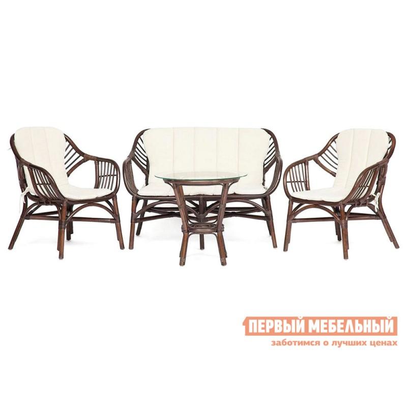 Комплект плетеной мебели  SONOMA Грецкий орех