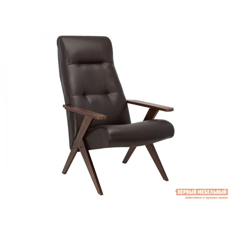 Кресло  Кресло Leset Tinto Relax Орех, Vegas Lite Amber, иск. кожа