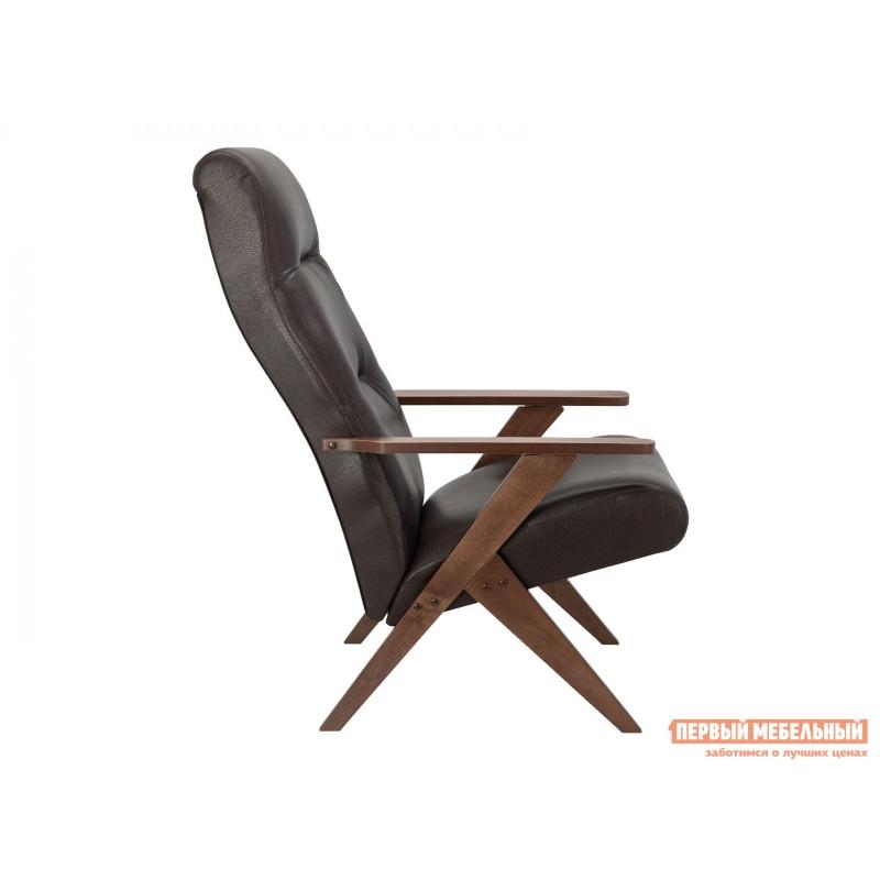 Кресло  Кресло Leset Tinto Relax Орех, Vegas Lite Amber, иск. кожа (фото 3)