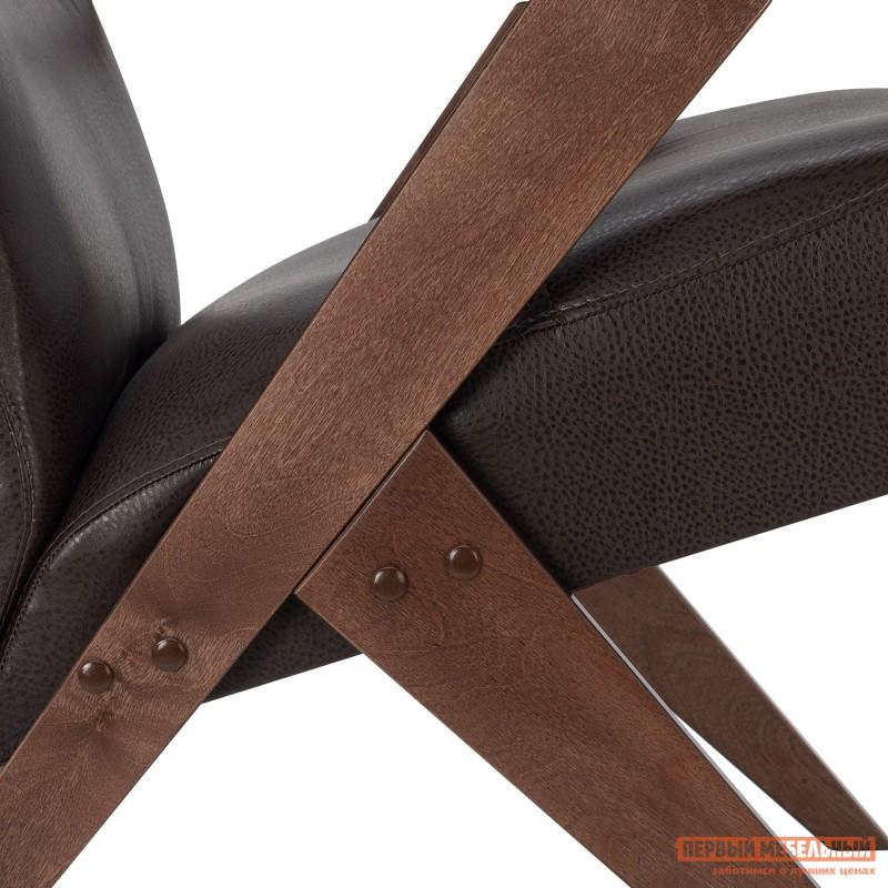 Кресло  Кресло Leset Tinto Relax Орех, Vegas Lite Amber, иск. кожа (фото 7)