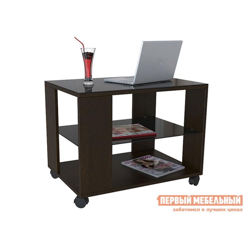 Журнальный столик  BeautyStyle 5 Венге / Стекло черное