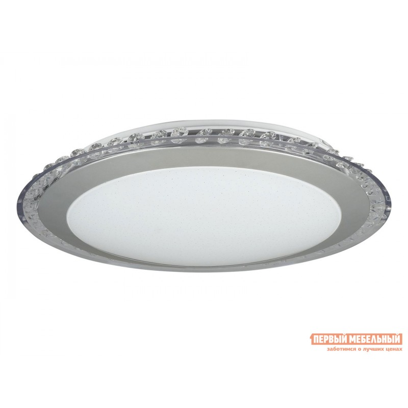 Потолочная люстра  Потолочный светильник Глори FR6441-CL-18-W Хром / Белый