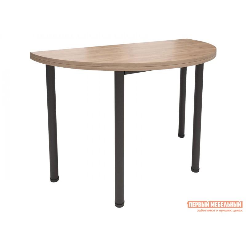 Кухонный стол  Стол-консоль Далис 1 Дуб Табачный Крафт / Черный муар