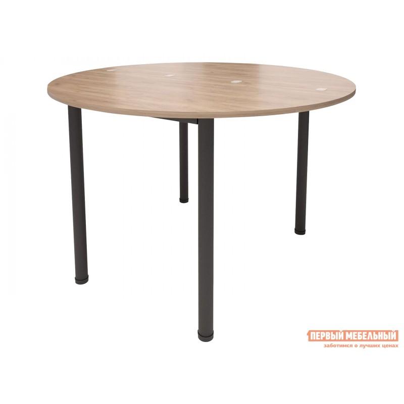 Кухонный стол  Стол-консоль Далис 1 Дуб Табачный Крафт / Черный муар (фото 2)
