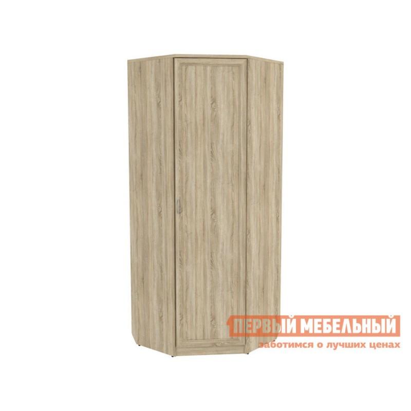 Распашной шкаф  Мерлен 400 Дуб Сонома, Без зеркала