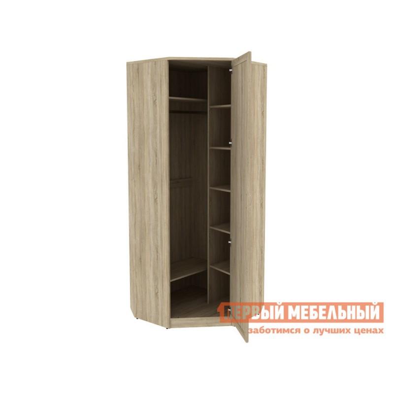 Распашной шкаф  Мерлен 400 Дуб Сонома, Без зеркала (фото 2)