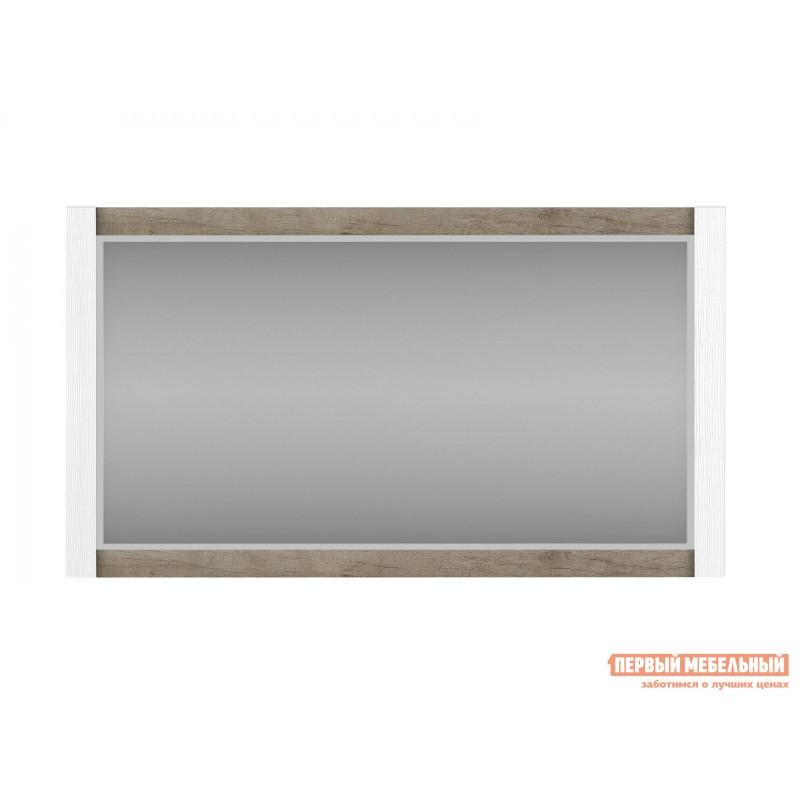Настенное зеркало  Зеркало Прованс Вудлайн кремовый / Дуб кантри