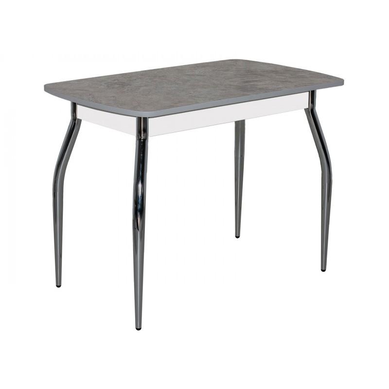 Кухонный стол  FLY 2 Песчаник, серый / Хром
