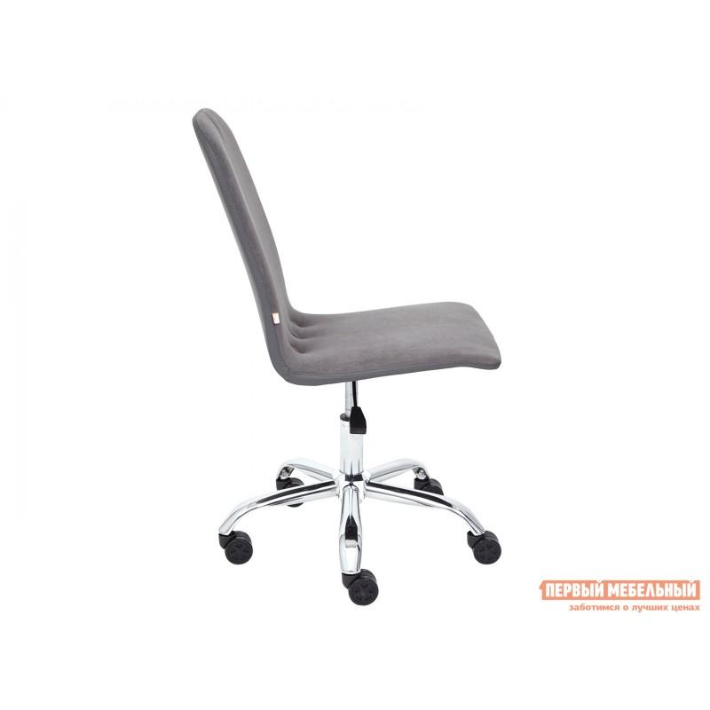 Офисное кресло  Офисное кресло RIO Серый, флок / Серый, кожзам (фото 3)