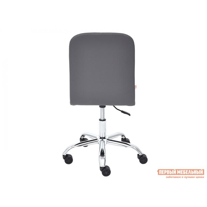 Офисное кресло  Офисное кресло RIO Серый, флок / Серый, кожзам (фото 5)