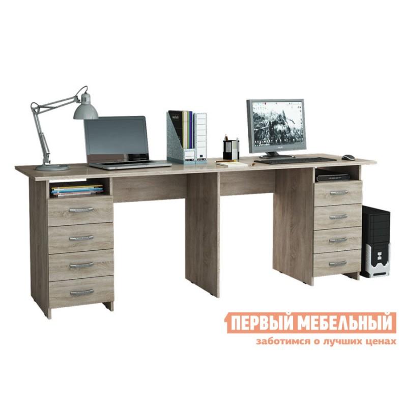 Компьютерный стол  Стол для двоих Тандем-3 (0120) Дуб Сонома