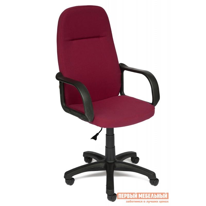 Кресло руководителя  Leader Ткань бордо NF 2604