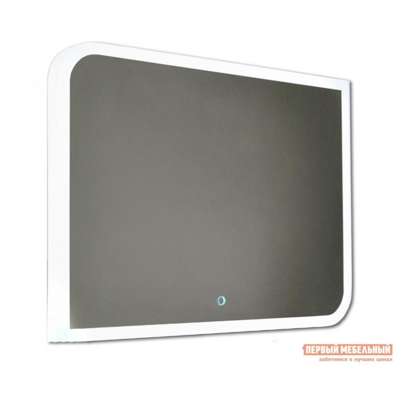 Настенное зеркало  Зеркало ЗЛП37 Fantasy LED 800х600 Белый, Без функции антизапотевания