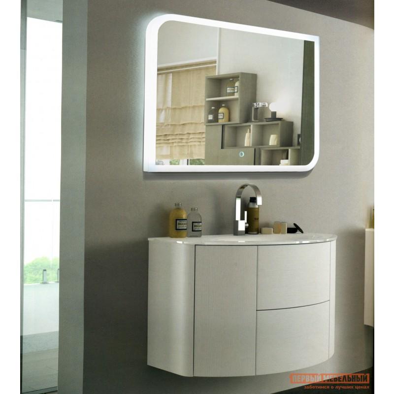 Настенное зеркало  Зеркало ЗЛП37 Fantasy LED 800х600 Белый, Без функции антизапотевания (фото 3)