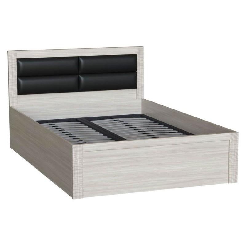 Двуспальная кровать  Элегия Ясень Шимо светлый, 140х200 см (фото 2)