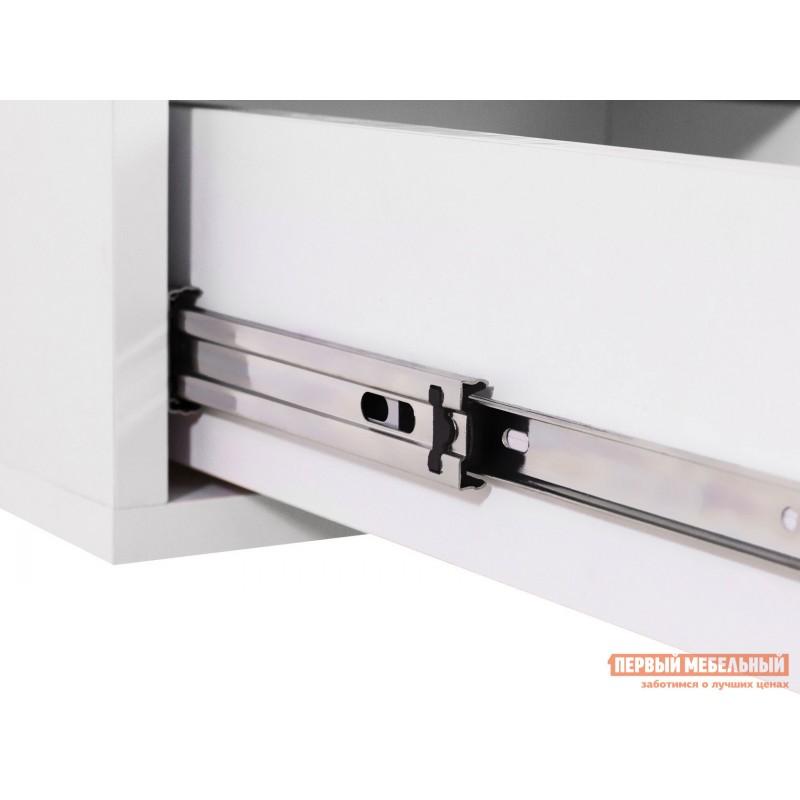 Компьютерный стол  КСТ-17 Дуб Сонома / Белый (фото 4)