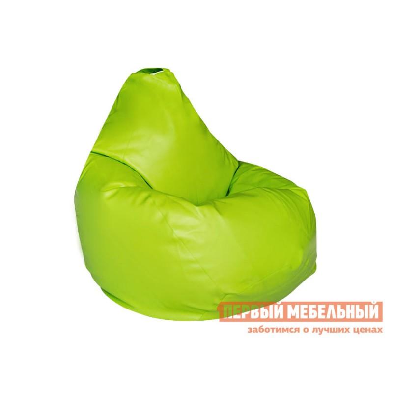 Кресло-мешок  Кресло-мешок Ашли Салатовая экокожа, 3XL