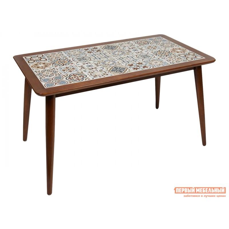 Кухонный стол  Стол Tanger СТ 3052 Темный дуб / Плитка марокко