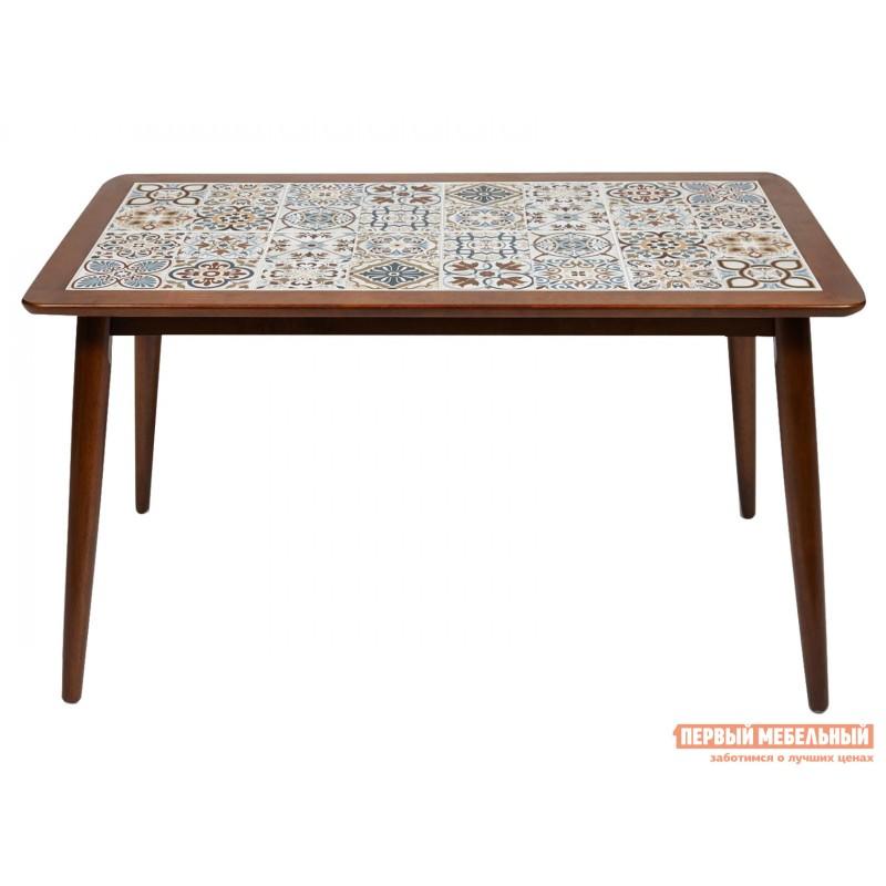 Кухонный стол  Стол Tanger СТ 3052 Темный дуб / Плитка марокко (фото 2)