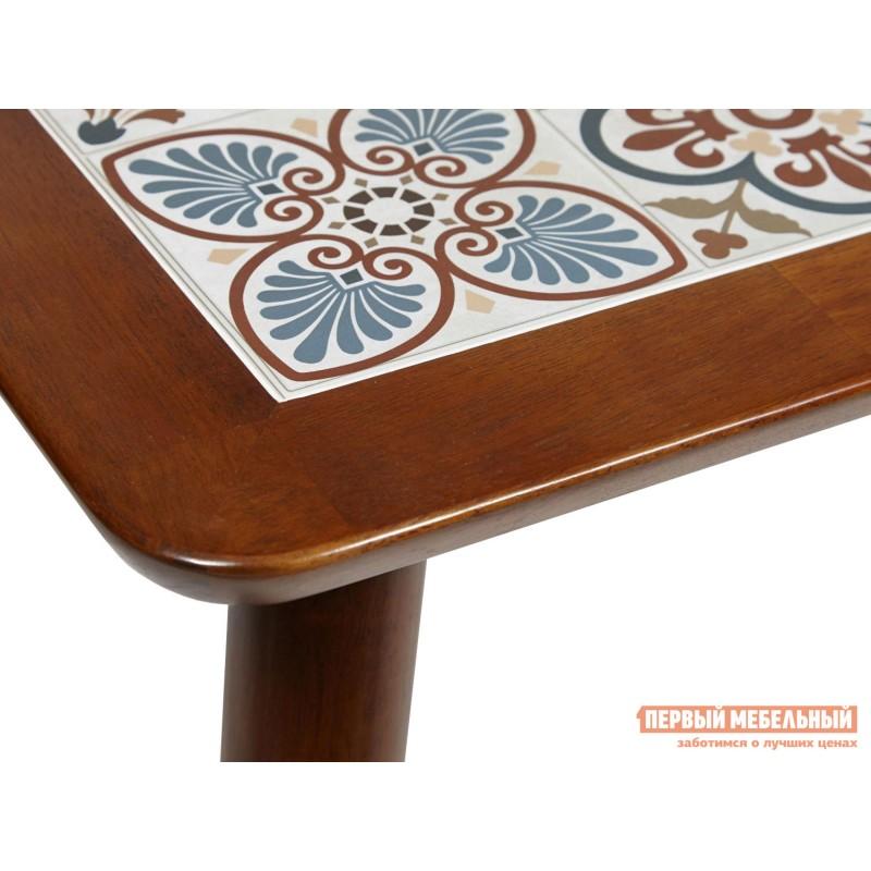 Кухонный стол  Стол Tanger СТ 3052 Темный дуб / Плитка марокко (фото 3)