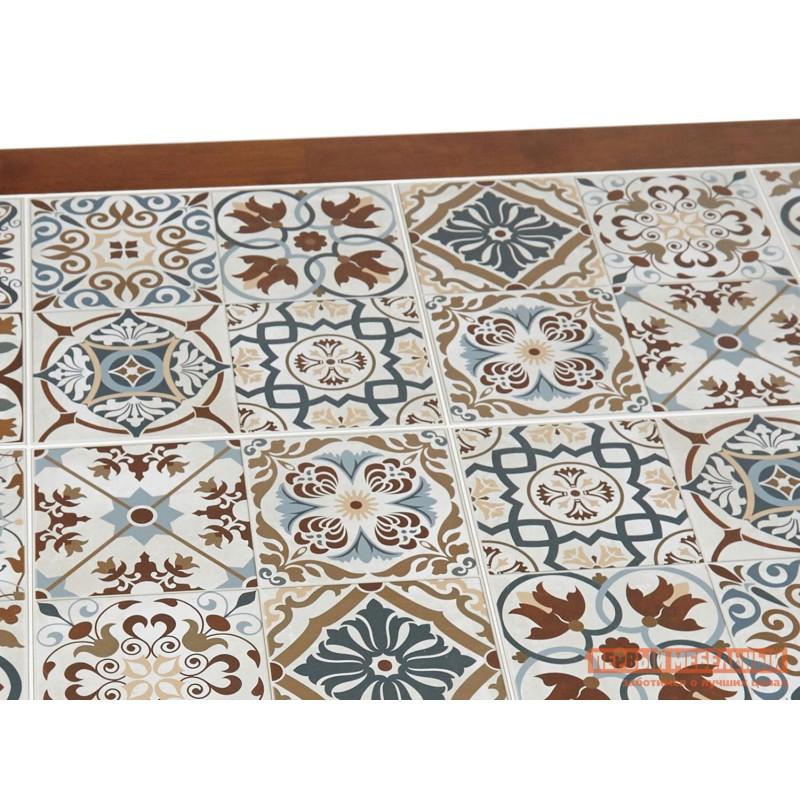 Кухонный стол  Стол Tanger СТ 3052 Темный дуб / Плитка марокко (фото 4)