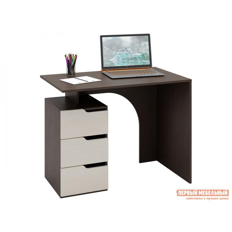 Письменный стол  Нейт-1 Венге / Дуб Молочный