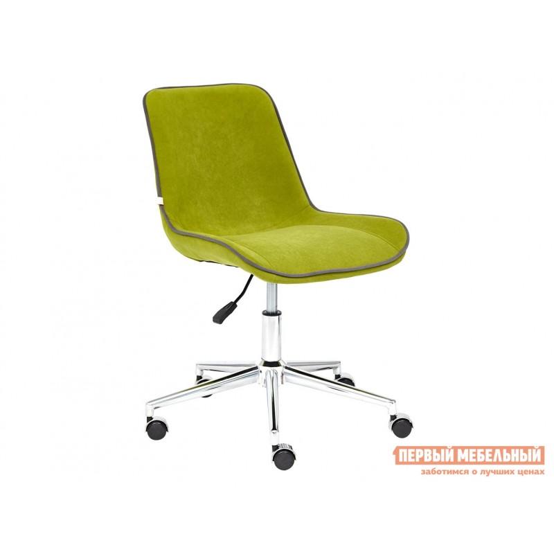 Офисное кресло  Кресло STYLE Флок / Олива / 23