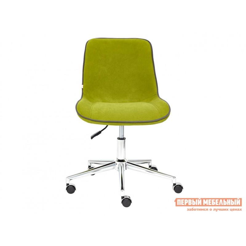 Офисное кресло  Кресло STYLE Флок / Олива / 23 (фото 2)