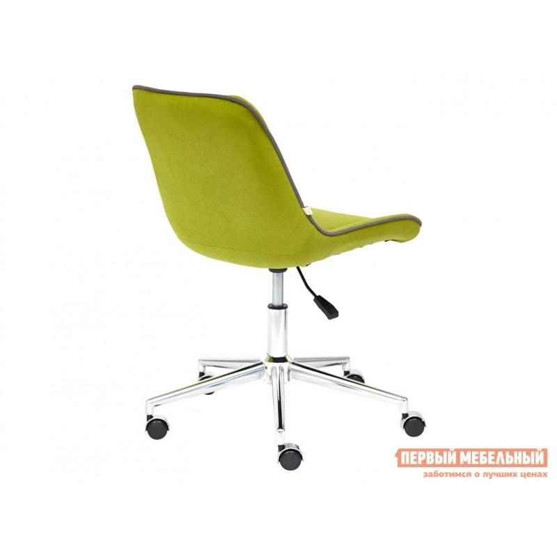Офисное кресло  Кресло STYLE Флок / Олива / 23 (фото 3)