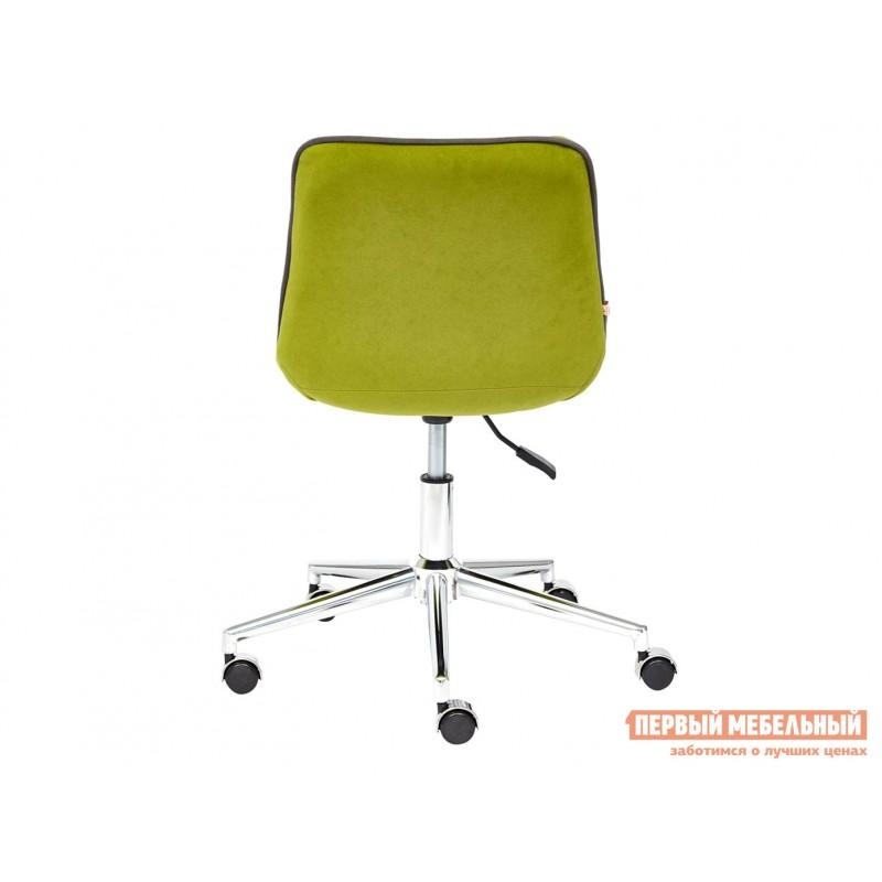 Офисное кресло  Кресло STYLE Флок / Олива / 23 (фото 4)