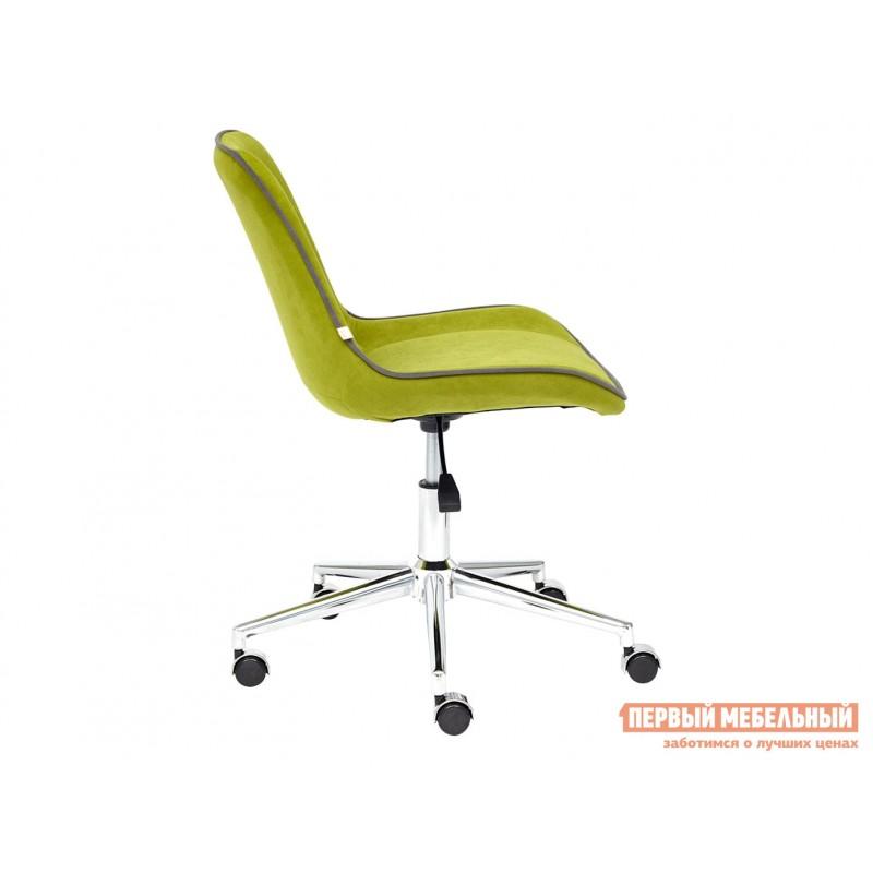 Офисное кресло  Кресло STYLE Флок / Олива / 23 (фото 5)