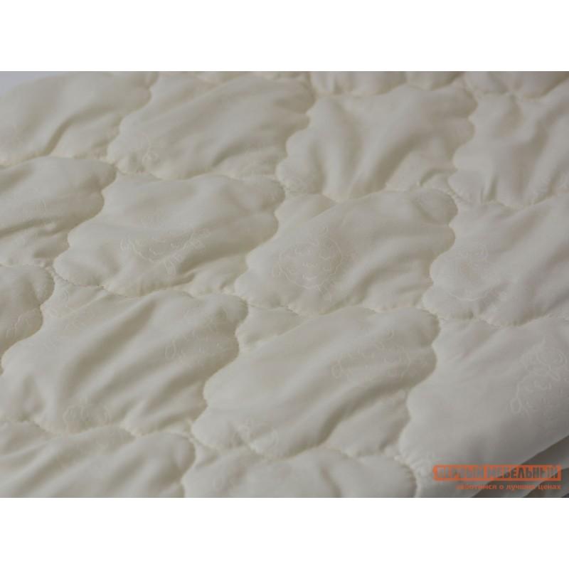 Чехол для матраса  Наматрасник овечья шерсть микрофибра Молочный, 900 Х 2000 мм (фото 4)