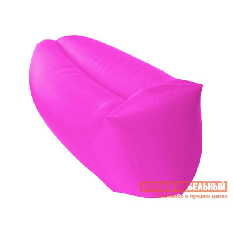 Кресло-мешок  Надувной лежак AirPuf Розовый, оксфорд