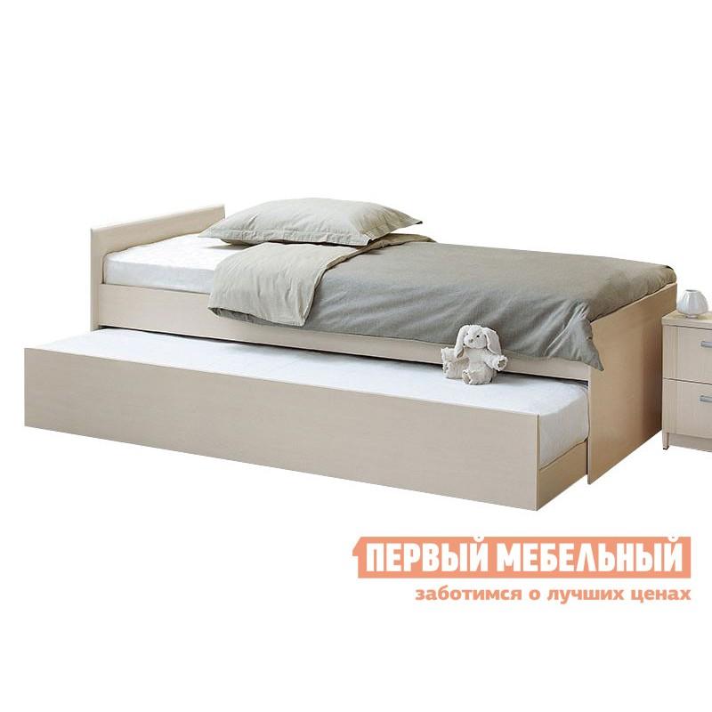 Детская кровать  Кровать выдвижная Дуэт Шимо светлый