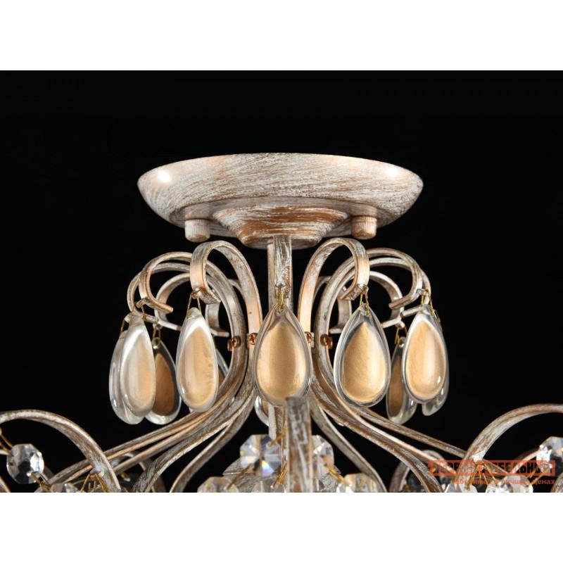 Потолочная люстра  Люстра Каброль FR2302-CL-04-WG Золото (фото 2)