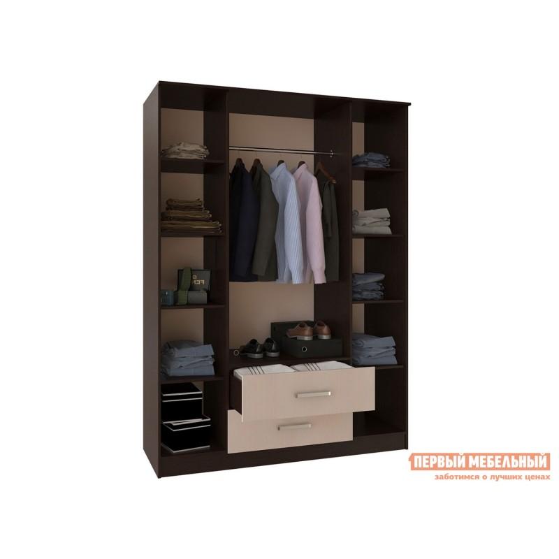 Распашной шкаф  Фиеста Ш4 Венге / Лоредо (фото 2)