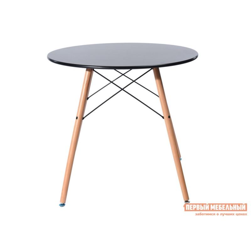 Кухонный стол  EAMES DSW Z-231 / EAMES DSW CHAD Черный, 800 мм