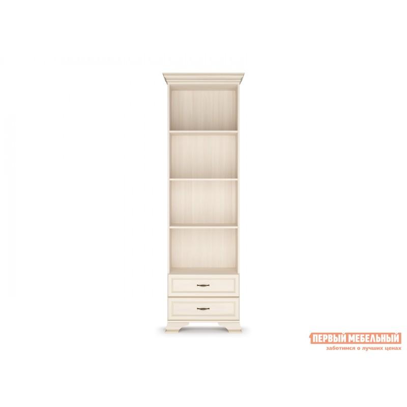 Стеллаж  Шкаф-стеллаж 600 Сиена Бодега белый, патина золото, Большой (фото 2)
