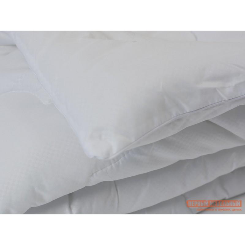 Одеяло  Одеяло микрофибра/лебяжий пух, 300г/м2 всесезонное Белый, 1400 х 2050 мм (фото 2)