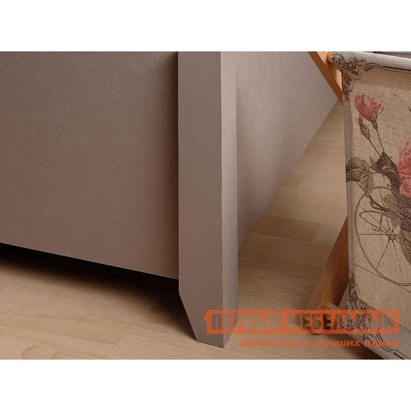 Двуспальная кровать  Брауни 307 Мокко / Коричневый, микрофибра, С подъемным механизмом (фото 3)