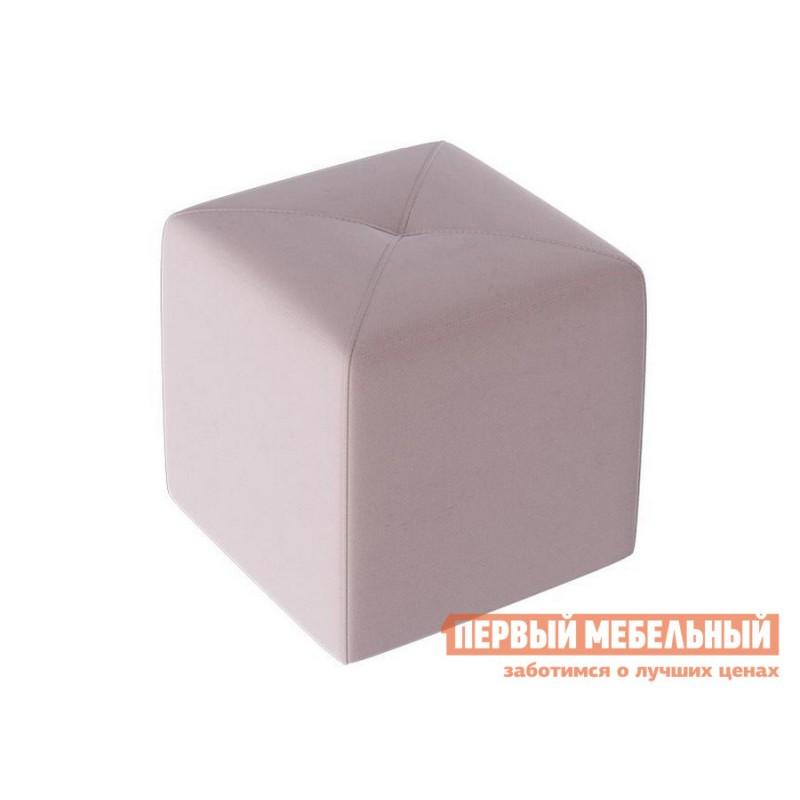 Пуфик  Пуф Тип 6 Велюр Светло-лиловый