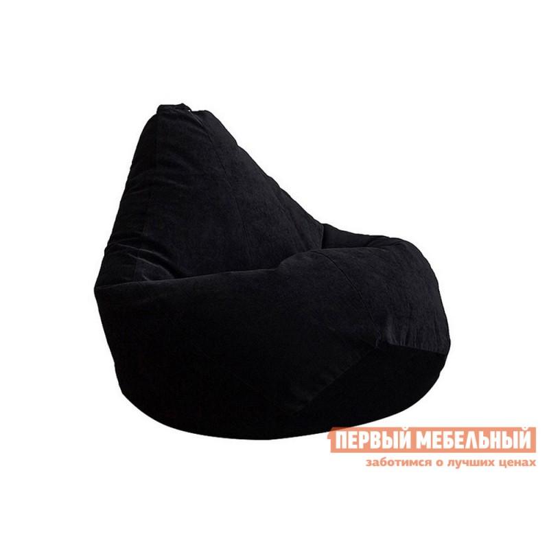 Кресло-мешок  Кресло-мешок Микровельвет Черный микровельвет, 3XL