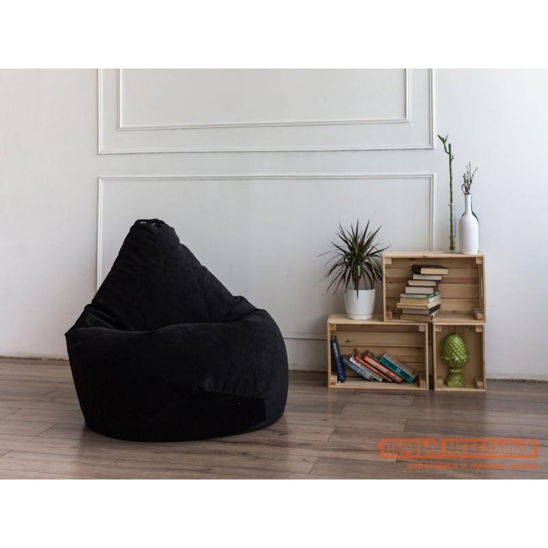 Кресло-мешок  Кресло-мешок Микровельвет Черный микровельвет, 3XL (фото 2)