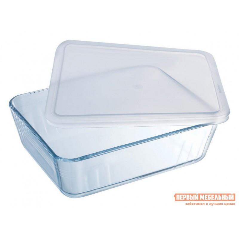 Форма для выпечки  Контейнер с крышкой Cook Freez 22x17x6см 1.5л прямоугольный Стекло (фото 2)