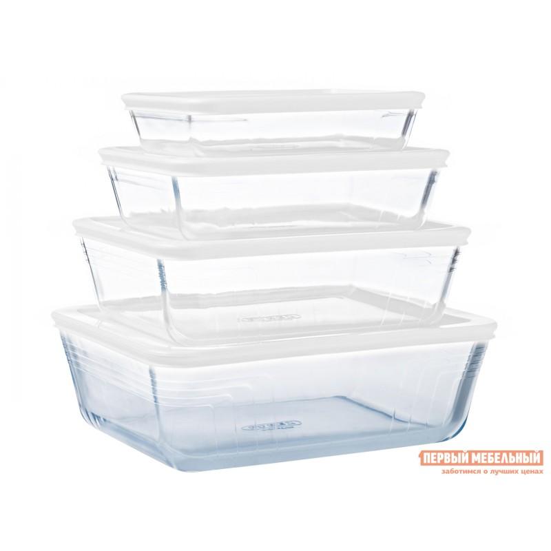 Форма для выпечки  Контейнер с крышкой Cook Freez 22x17x6см 1.5л прямоугольный Стекло (фото 9)